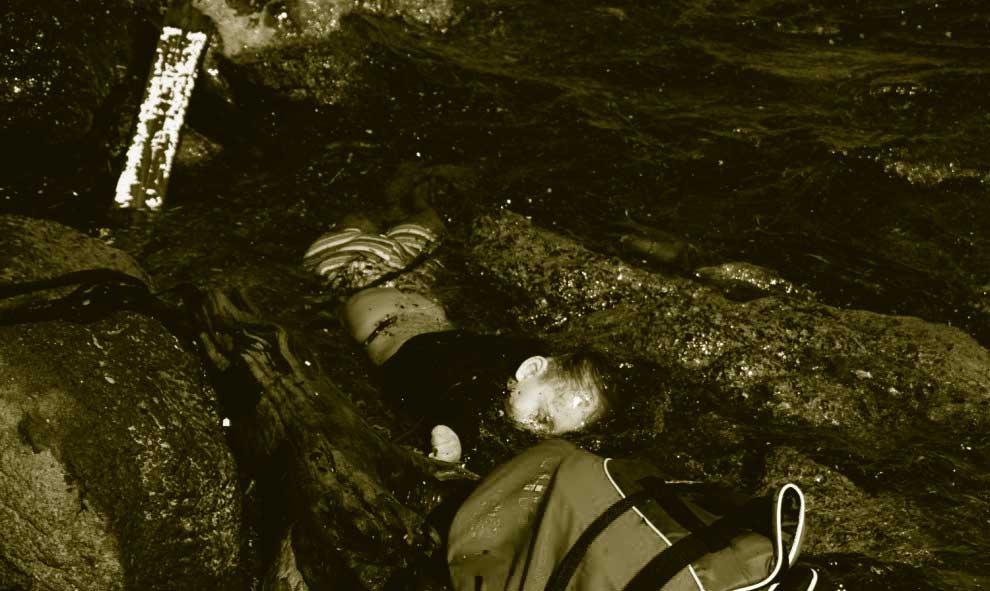 rescate en Lesbos