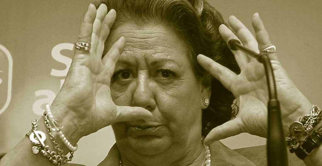 foto de Rita Barberá riéndose de todos