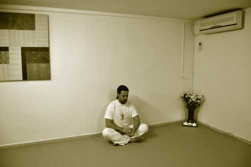 práctica meditación