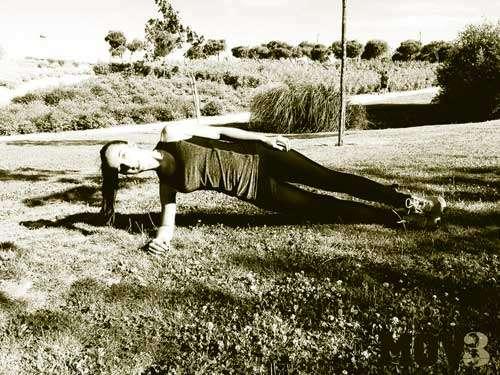 plancha lateral abdominales