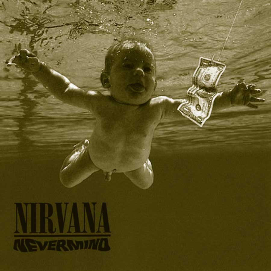 portada disco Nevermind deNirvana.