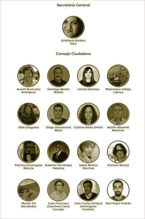 candidatura Secretaría General y Consejo Ciudadano Salamanca