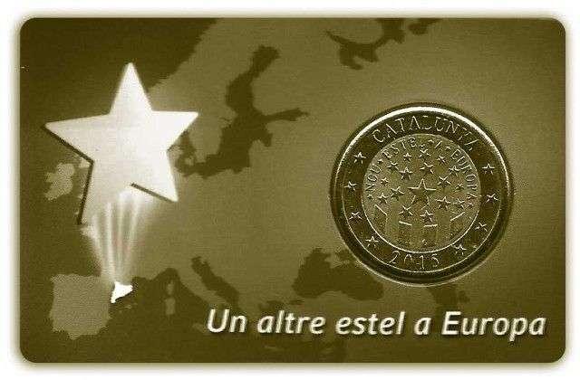 Un euro catalán