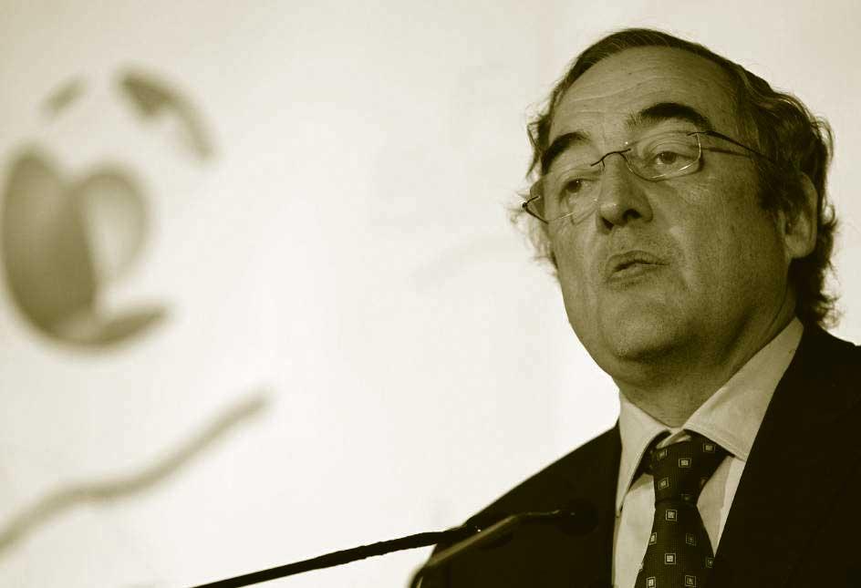 Juan Rosell presidente de la CEOE