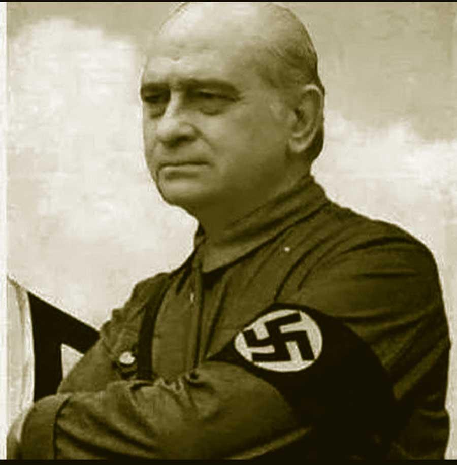 Fernández Díaz con camisa nazi