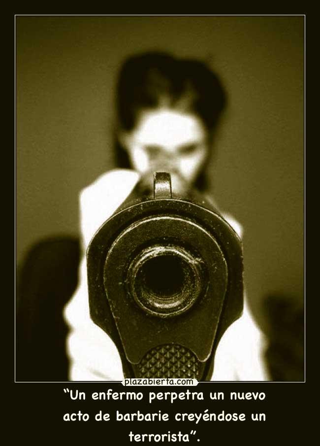 pistola disparo