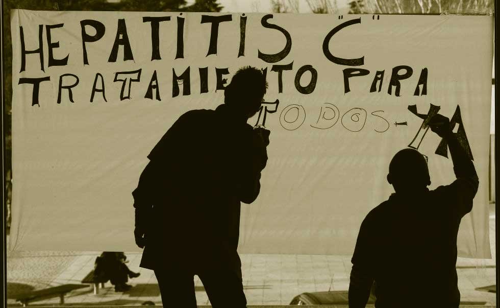 plataforma afectados hepatitis C