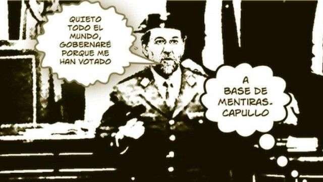 Rajoy golpe de estado