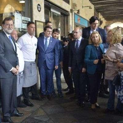 Rajoy Visita Salamanca