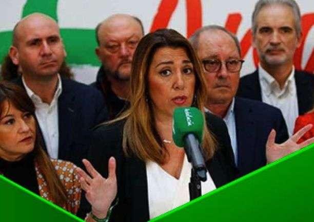 LOS PASOS CAMBIADOS DEL PSOE-A