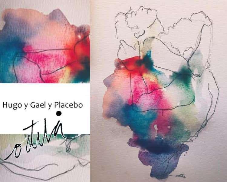 HUGO Y GAEL, Y PLACEBO..✨❤️
