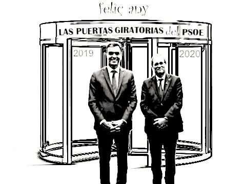 LAS PUERTAS GIRATORIAS DEL PSOE. FELIÇ ANY