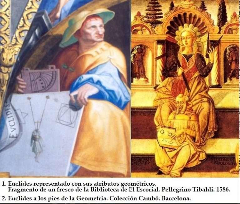 LOS  ELEMENTOS  DE  EUCLIDES. BIBLIA  DE LA GEOMETRÍA GRIEGA