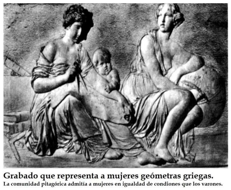 EN EL DÍA INTERNACIONAL DE LA MUJER (8 DE MARZO) TEANO DE CROTONA (siglo VI a.C.), LA PRIMERA MUJER CIENTÍFICA DE LA HISTORIA