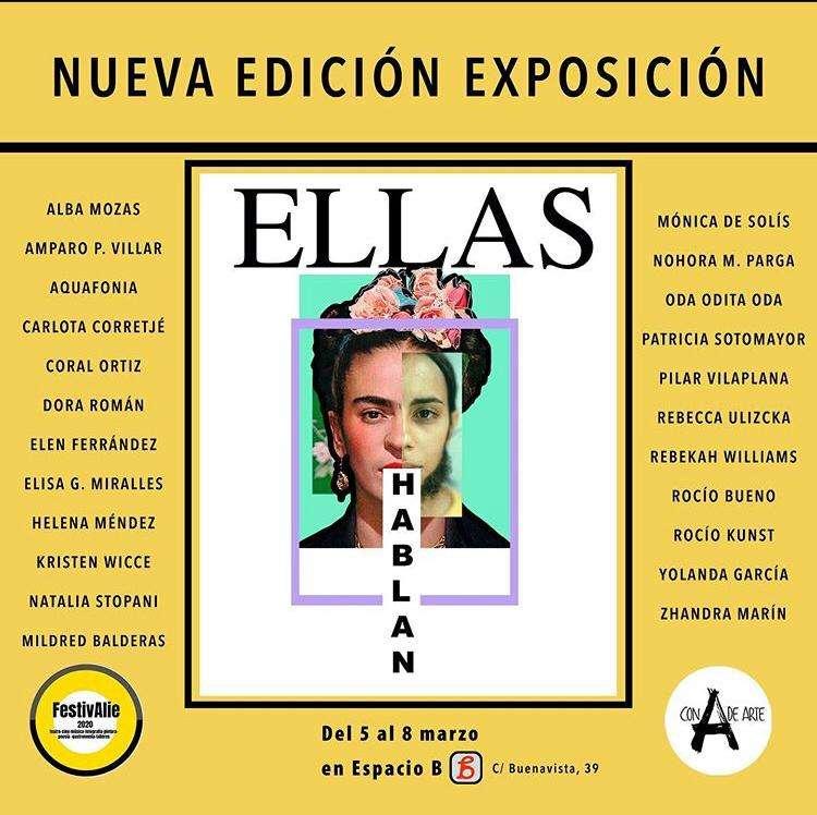 """INAUGURACIÓN EXPOSICIÓN: """"ELLAS HABLAN»"""