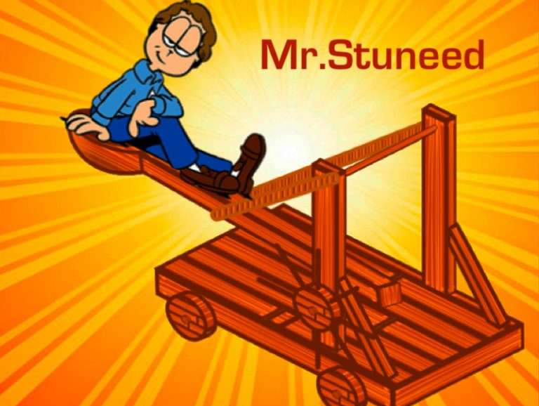 LA CATAPULTA DE MR. STUNNED
